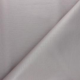 Tissu toile cirée Matex Vision - gris perle x 10cm
