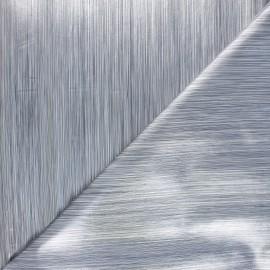 Tissu toile cirée Matex Rocky - argent x 10cm