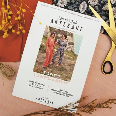 """Magazine """"Les Cahiers Artesane n°2 : Les Heures d'Albâtre"""""""
