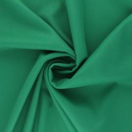 Plain gabardine bamboo fabric - green x 10 cm