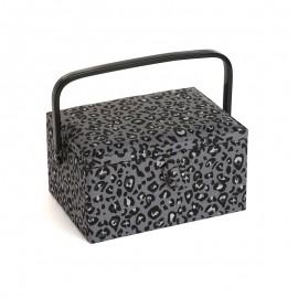 Medium Size Sewing Box - Léopard