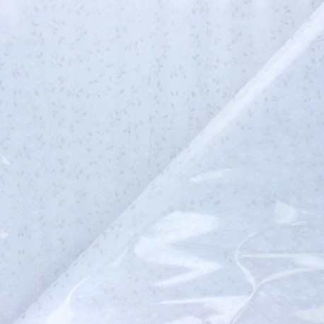 Cristal transparent 15/100 Nica - blanc x 10cm