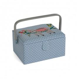 Medium Size Sewing Box - Paresseux coloré