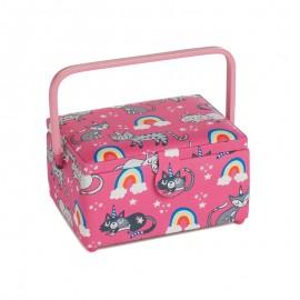 Boite à Couture Taille M - Rainbow cat