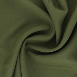 Plain Tencel twill fabric - olive green Utopia x 10cm