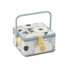 Square Sewing Box - Flowers
