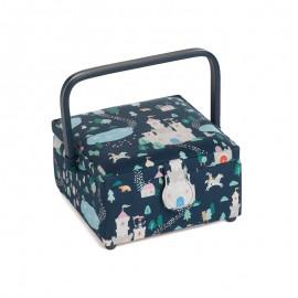 Square Sewing Box - Princesse