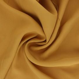 Plain Tencel twill fabric - ochre Utopia x 10cm