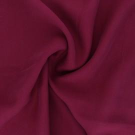 Tissu Tencel sergé uni Utopia - rouge x 10cm