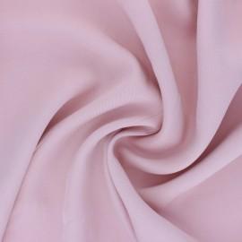 Tissu Tencel sergé uni Utopia - rose x 10cm