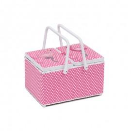 Basket Sewing Box - Flamingo