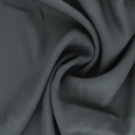 Plain Tencel twill fabric - grey Utopia x 10cm