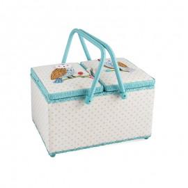 Basket Sewing Box - Chouette & Hibou