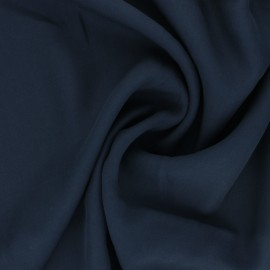 Tissu Tencel sergé uni Utopia - bleu x 10cm
