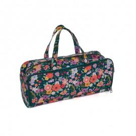 Knitting Bag + case - Folkflowers