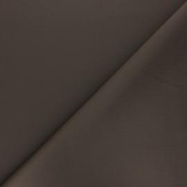 Tissu double Jersey Milano uni - marron x 10cm