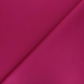 Plain Milano double jersey fabric - fuchsia x 10cm