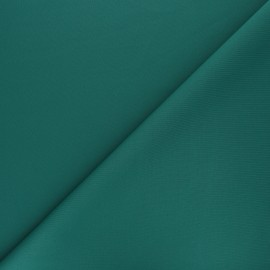 Plain Milano double jersey fabric - emerald green x 10cm