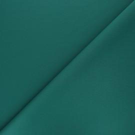 Tissu double Jersey Milano uni - vert émeraude x 10cm