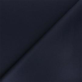 Tissu double Jersey Milano uni - bleu marine x 10cm