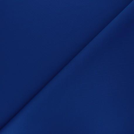 Tissu double Jersey Milano uni - bleu roi x 10cm