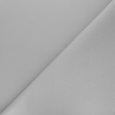 Plain Milano double jersey fabric - light grey x 10cm