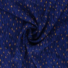 Tissu Viscose Radiance Imaé by Penelope® - bleu x 10cm