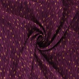Tissu Viscose Radiance Imaé by Penelope® - figue x 10cm