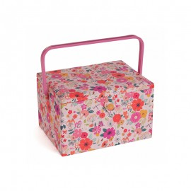 Large Size Sewing Box - Flowery