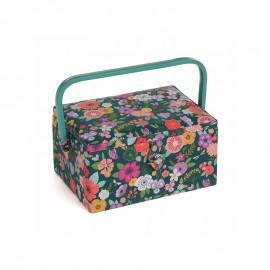 Medium Size Sewing Box - Folkflowers
