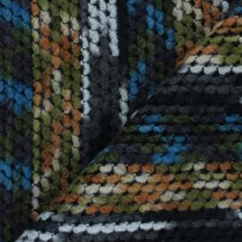 Tissu lainage Gatina - multicolore x 10cm