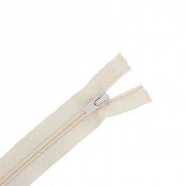 Separating zipper ECLAIR 6 mm - off white