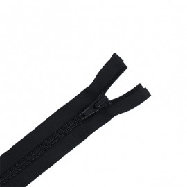 Separating zipper ECLAIR 6 mm - black