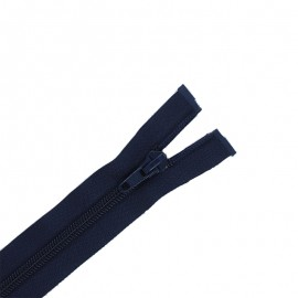 fermeture Eclair séparable - bleu marine