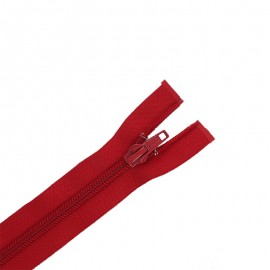 Separating zipper ECLAIR 6 mm - bloody red