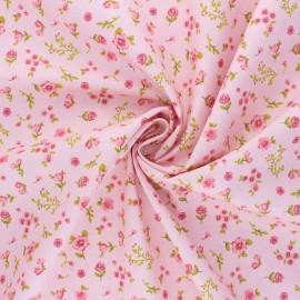 Poppy poplin cotton Fabric - pink Sweet Flowers B x 10cm