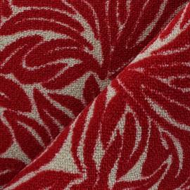Tapis tissé anti-dérapant Ulysse - Rouge x 10cm