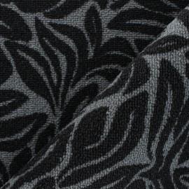 Woven anti-slip carpet fabric - black Ulysse x 10cm