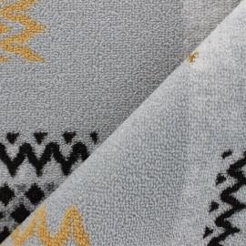 Tapis tissé anti-dérapant Mozam - Gris x 10cm