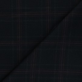 Polyviscose elastane fabric - black Bayswater x 10cm
