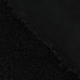Fourrure mouton noire x 10cm