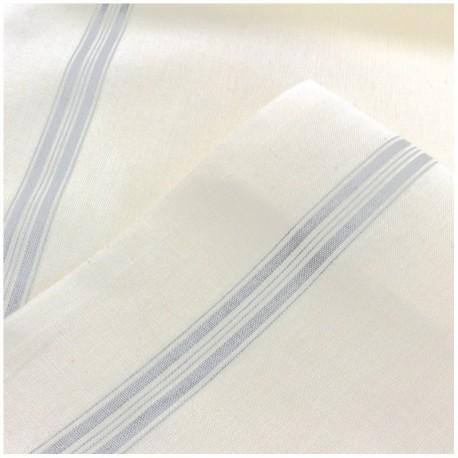 Tea towels canvas fabric - grey x 10cm