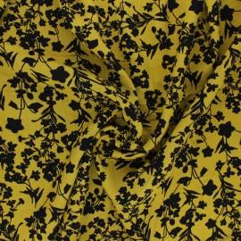Tissu Viscose Radiance Floral Bush by Penelope® - ocre x 10cm