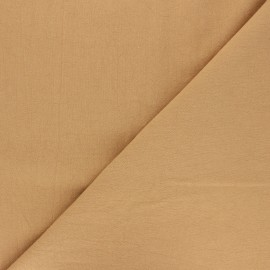 Plain washed cotton fabric - ochre Dili x 10cm