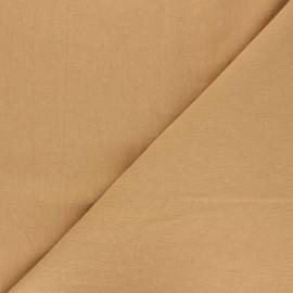 Tissu coton lavé uni Dili - ocre x 10cm
