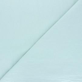 Tissu coton lavé uni Dili - opaline x 10cm