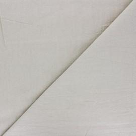 Tissu coton lavé uni Dili - sable x 10cm