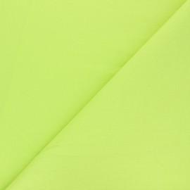 Tissu Coton uni - vert anis x 10cm