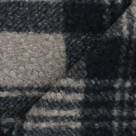 Tissu lainage bouclette Scott - grège x 10 cm
