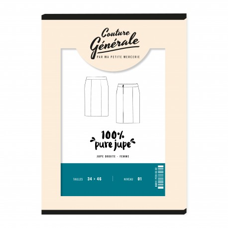 Skirt Sewing Pattern Couture Générale - 100% pure jupe